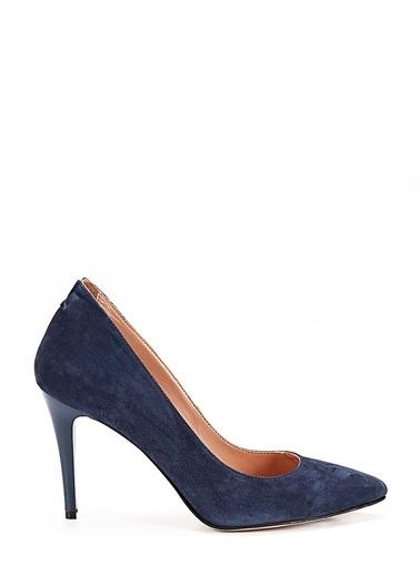 Hotiç %100 Deri Klasik Ayakkabı Lacivert